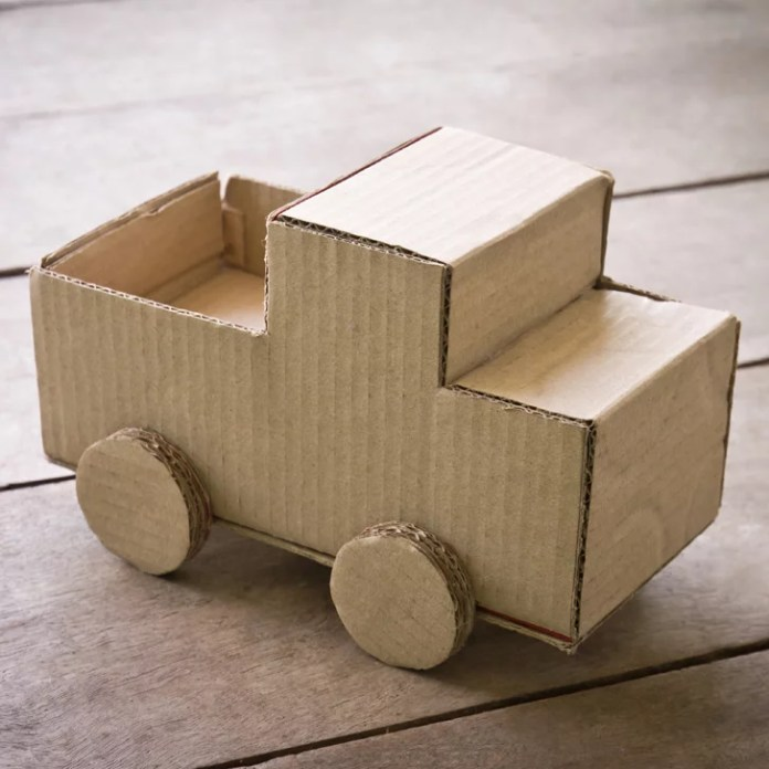 Cardboard Box Projects For Kids Popsugar Family