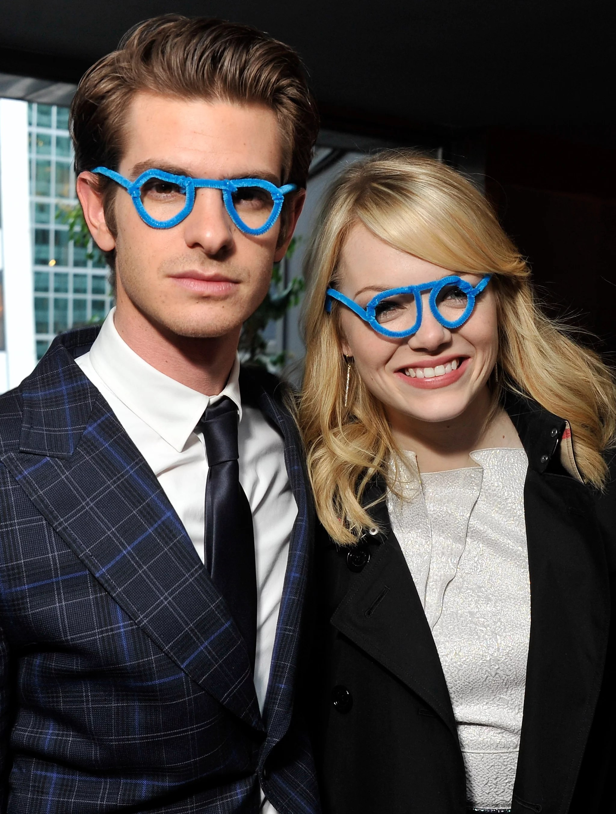 Andrew Garfield Glasses : andrew, garfield, glasses, Stone, Boyfriend, Andrew, Garfield, Sported, Silly, Glasses, During, Perfect, Excuse, Stone's, Smile, POPSUGAR, Celebrity, Photo