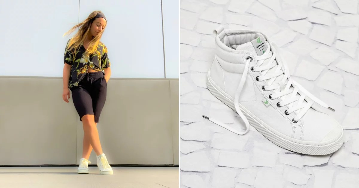 My New Favorite High-Top Sneakers Are Vegan and Under $100, HBU?