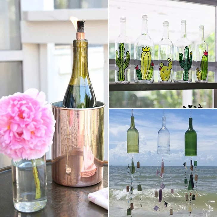 Old Wine Bottle Decorating Ideas Popsugar Home. SaveEnlarge & Decorating Bottles Ideas - Elitflat