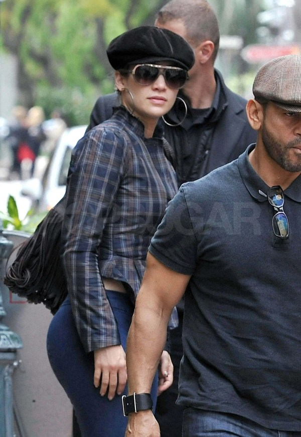 Jennifer Lopez Arriving In Nice France With
