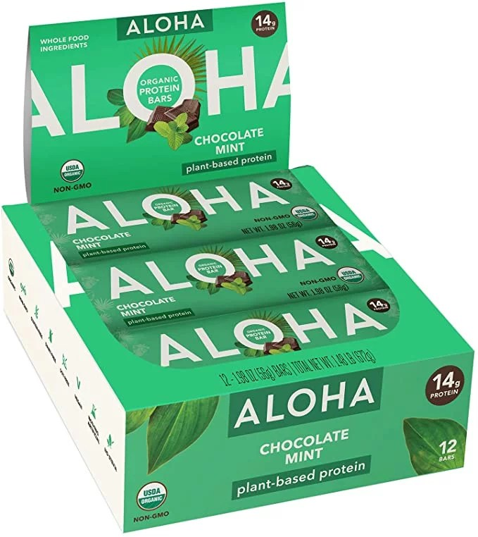 Aloha Chocolate Mint Bar