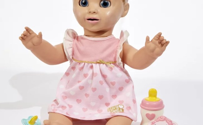 Luvabella Interactive Baby Doll 100 Available Oct