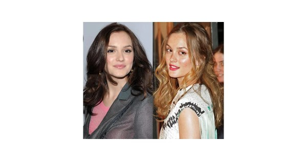Leighton Meester With Blond Hair POPSUGAR Beauty
