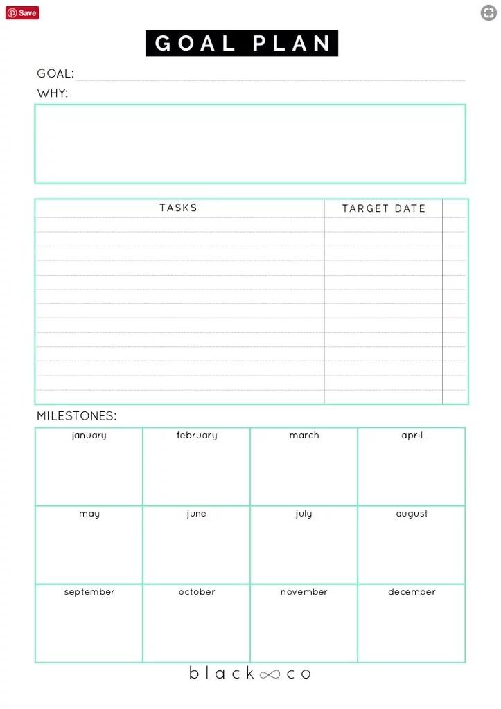 Download: Blackco Goal Plan Sheet