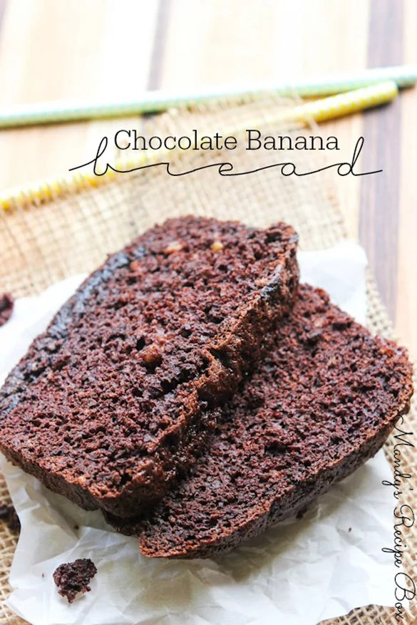 Chocolate Banana Bread Recipes Using Boxed Cake Mix