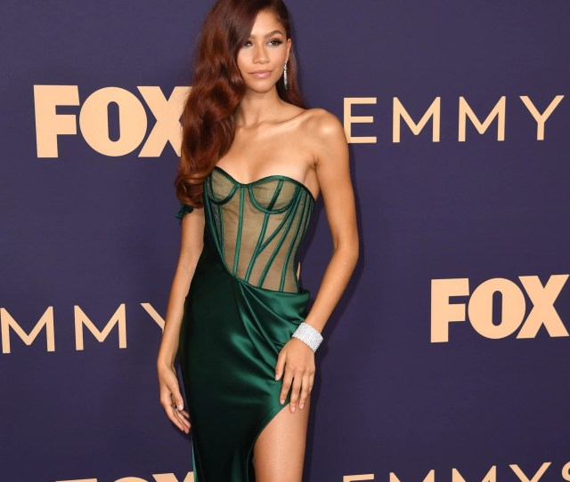Darcy Carden At The  Emmy Awards The Sexiest Dresses At The