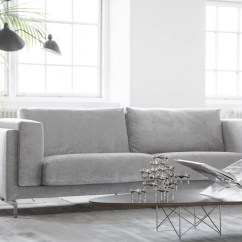Slipcovers For Sectional Sofa Purple Bed With Storage Pictured: Bemz Cover Nockeby Three Seater In ...