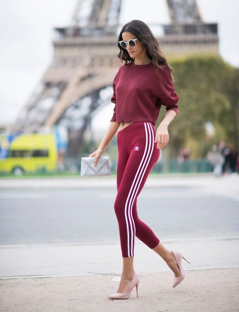 What To Wear With Adidas Pants