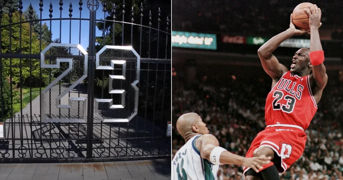 Take a Look Inside Michael Jordan's Illinois Mansion From His Chicago Bulls Glory Days
