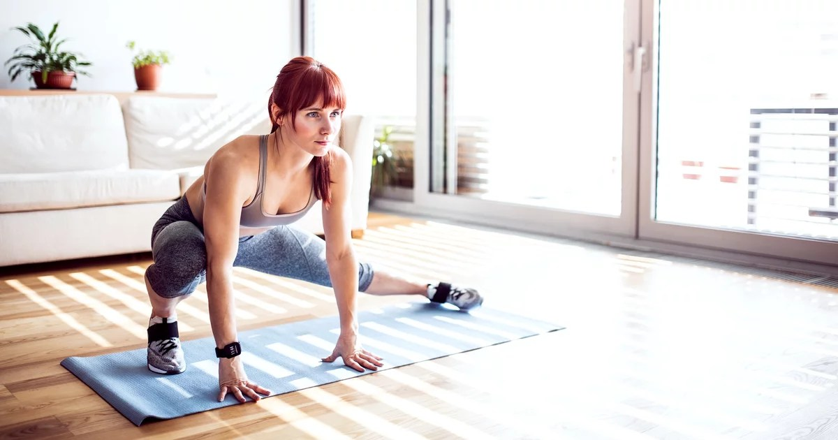 Making Your Home Workouts Harder Isn't Just About Adding More Weight  a Trainer Explains