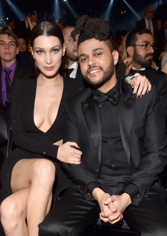 Image result for weeknd and bella