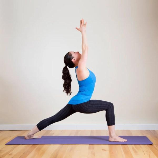 Warrior 1 Common Yoga Poses Popsugar