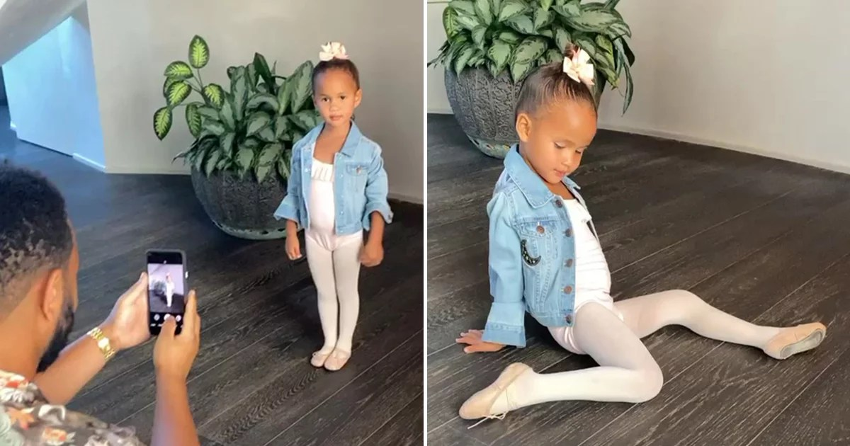 John Legend Was the Cutest Stage Dad While Snapping Photos of Luna In a Ballerina Outfit
