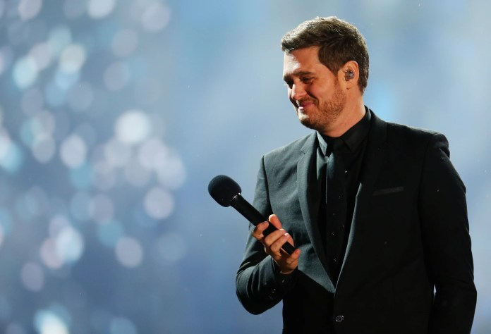 SYDNEY, AUSTRALIE - 5 octobre: ​​Michael Buble se produit au stade Allianz le 5 octobre 2018 à Sydney, en Australie. (Photo de Don Arnold / WireImage)