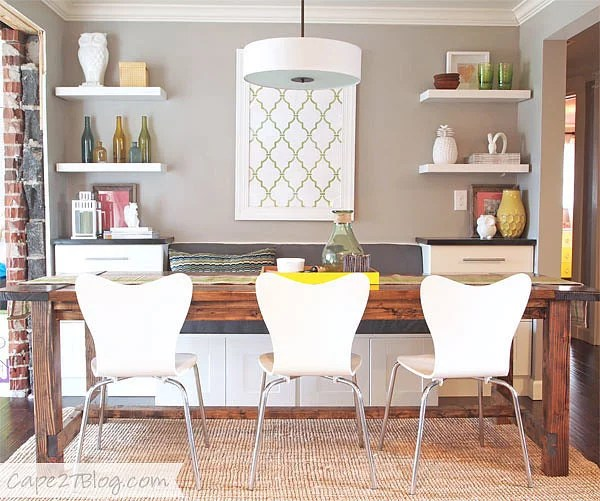 Diy A Cozy Dining Banquette Ikea Kitchen Cabinets