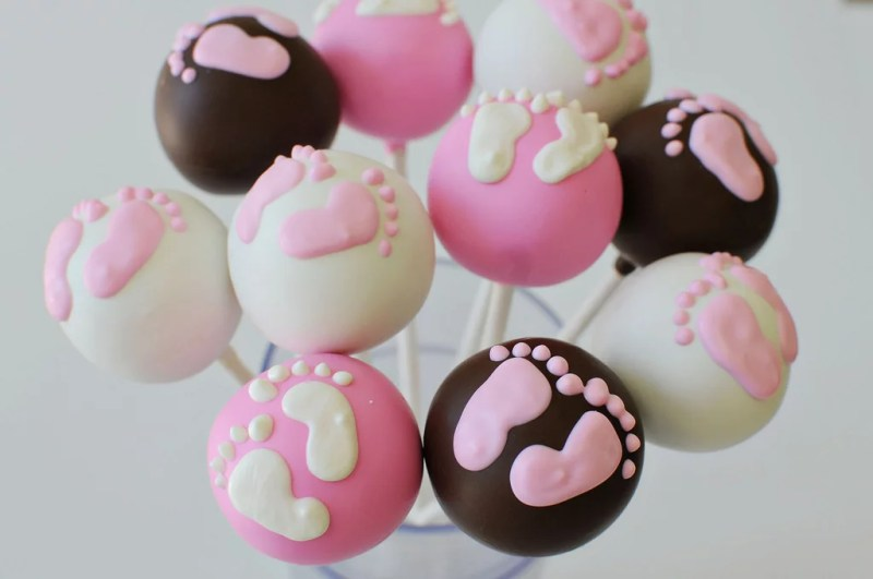 How To Make Baby Shower Cake Pops With Feet