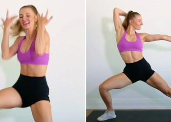"You Won't Be Able to Stop Grooving Along With This ""Rain on Me"" Full-Body Dance Workout"