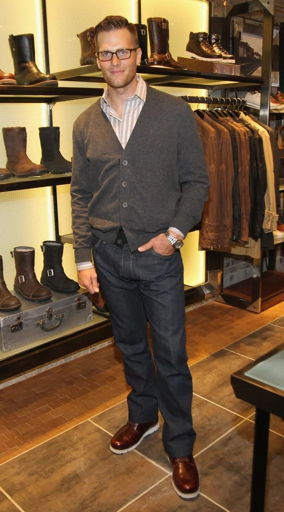 Tom Brady Pictures at Ugg Store Opening in NYC | POPSUGAR Celebrity UK