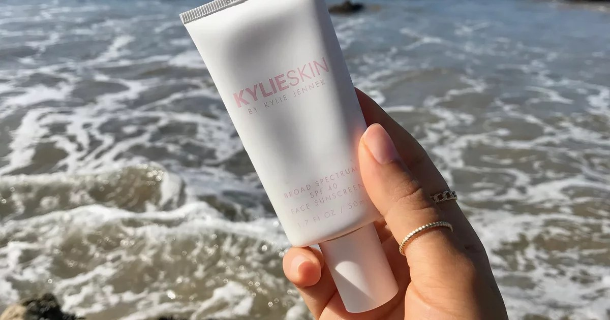 kylie skin spf 40 face sunscreen review