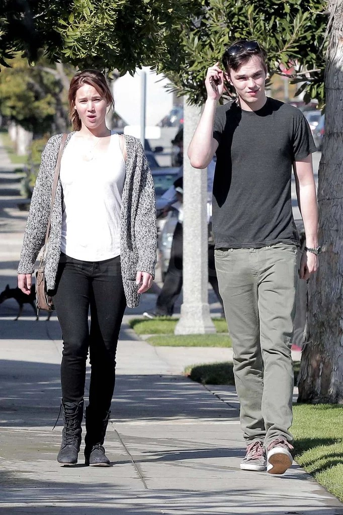 Jennifer Lawrence And Nicholas Hoult On Valentines Day