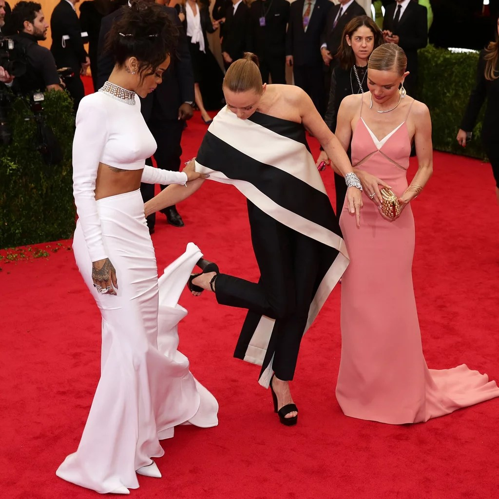 Met Gala Dress Mishaps