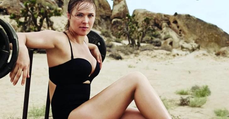 Ronda Rousey Self Magazine  POPSUGAR Fitness