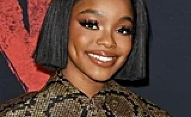 If You Thought Marsai Martin S Blunt Bob Was Chic Just