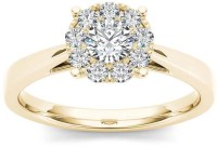 Modern Bride Diamond Ring | Michelle Williams Engagement ...