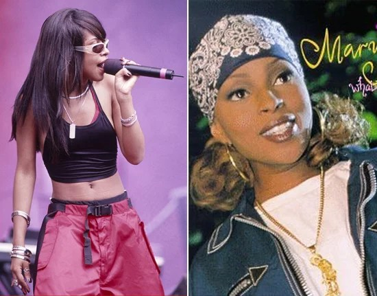 Mary J Blige And Aaliyah The Inspiration 90s Girl