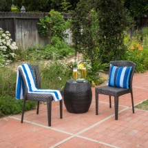 Irving Wicker Chat Set Target Outdoor Furniture