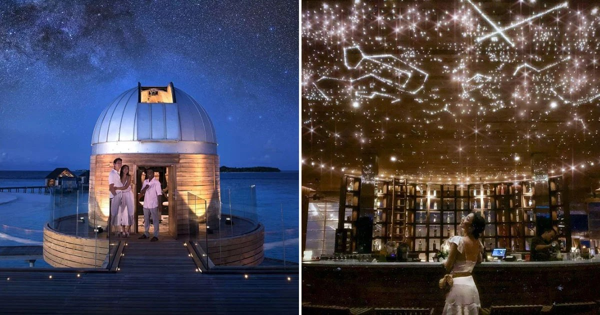 This Resort in the Maldives Has an Overwater Observatory With Its Own Astronomy Guide