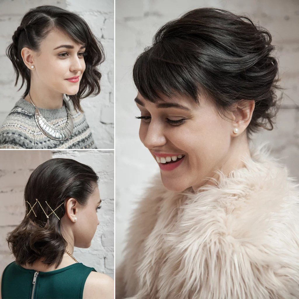 Holiday Length Medium Hairstyles Party