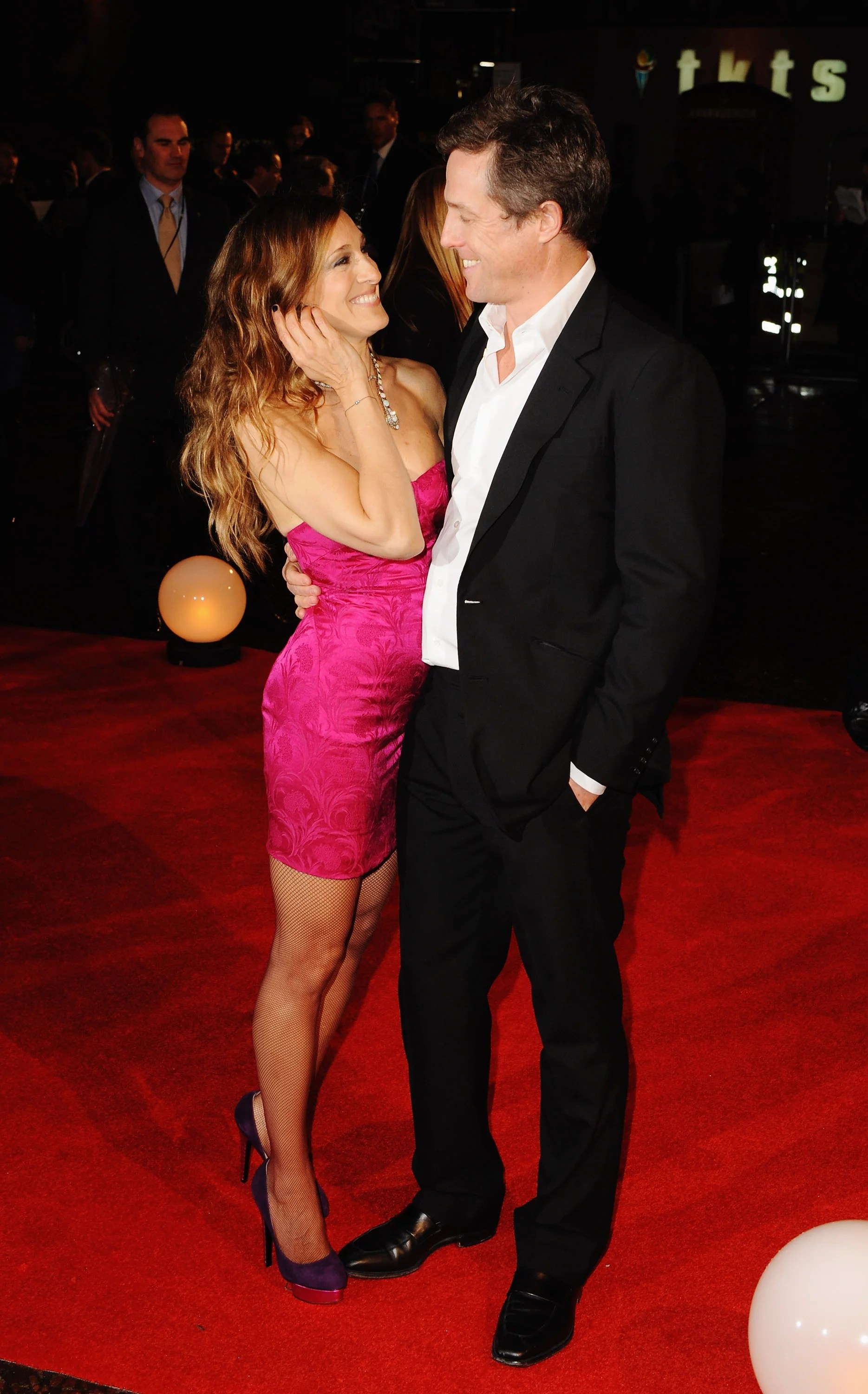 Photos of Sarah Jessica Parker and Hugh Grant at the