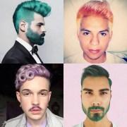 rainbow hair color ideas men
