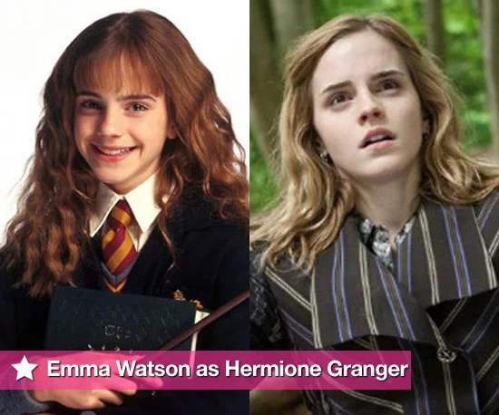 Pictures of Emma Watson as Hermione Granger in Harry