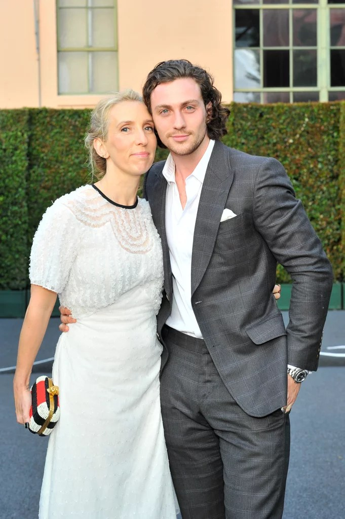 Aaron Taylor-Johnson and Wife Sam Cutest Pictures ...