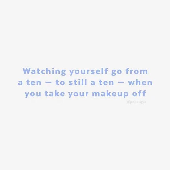 Inspiring No Makeup Quotes On Instagram