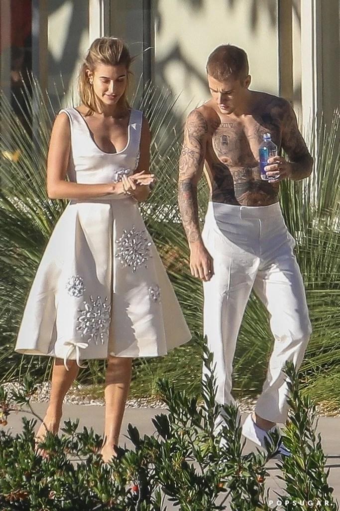 Justin Bieber and Hailey Baldwin Photo Shoot December 2018  POPSUGAR Celebrity Photo 3