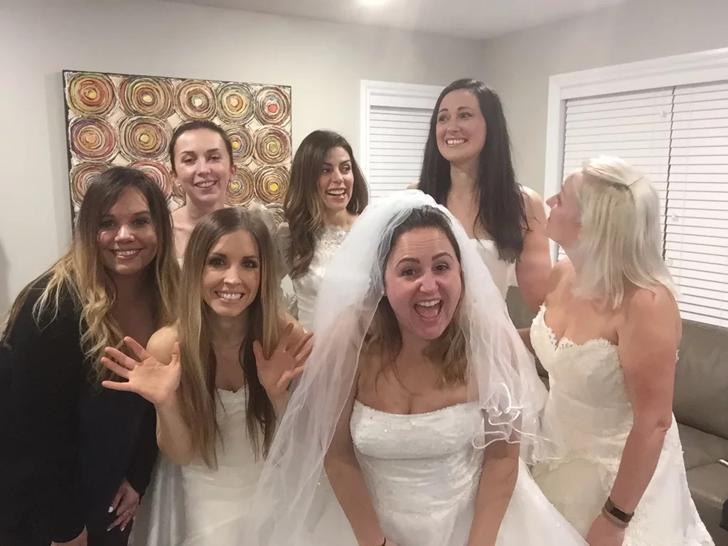 Women Support Friend S Divorce With A Party