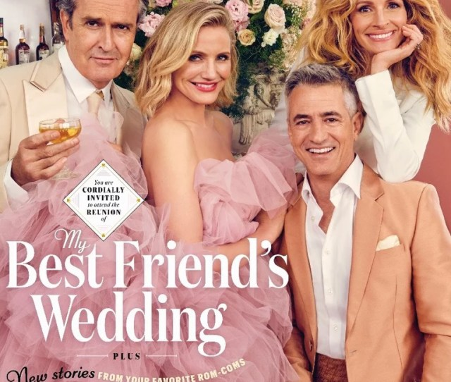 My Best Friends Wedding Reunion Entertainment Weekly Cover