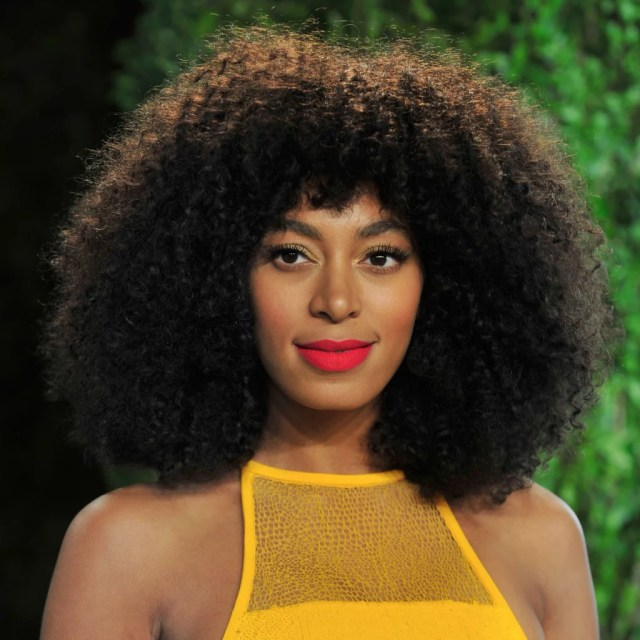 solange knowles's best hair and makeup looks | popsugar beauty