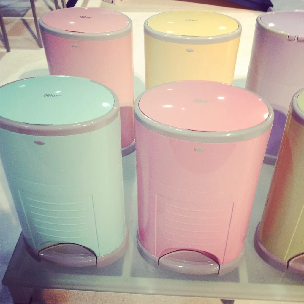 Diaper Dekor is introducing color to its diaper pail line  New Kid and Baby Products From ABC