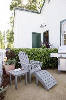 small-scale patio furniture decorating