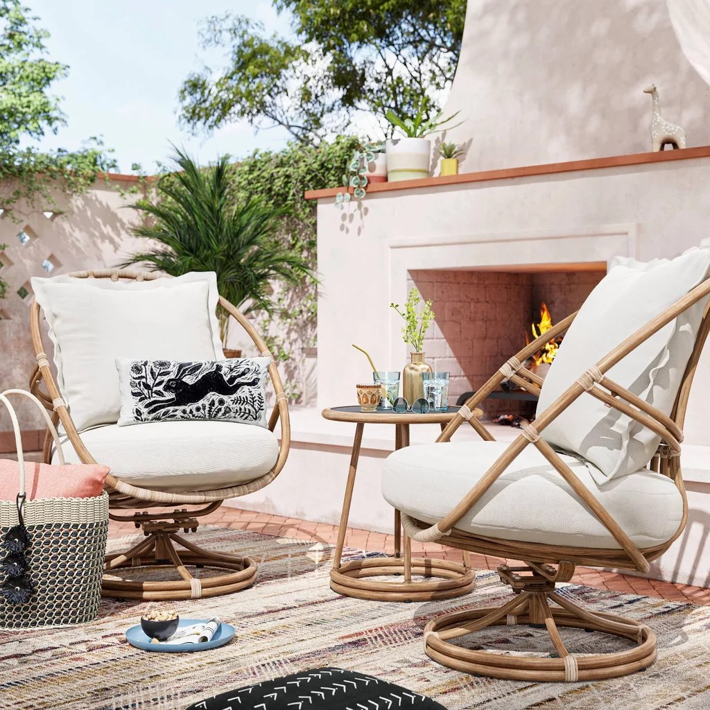 project 62 henning patio club chairs