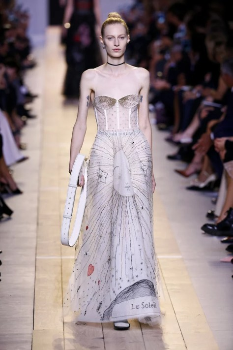 The Dior Spring 2017 collection was shown during Paris Fashion Week on Sept. 30.