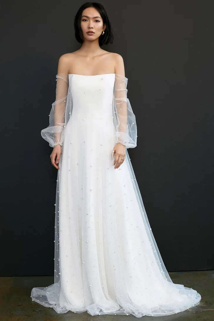 Sheer Details | Best Wedding Dresses For Spring 2021 ...
