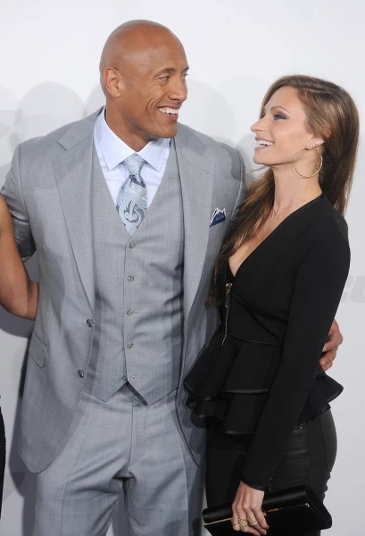 lauren hashian Dwayne Johnson and Lauren Hashian's Cutest Pictures