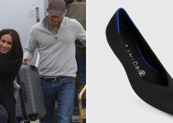 Eco-Stylish! Meghan Markle's $145 Airport Flats Are Made From Recycled Plastic Water Bottles