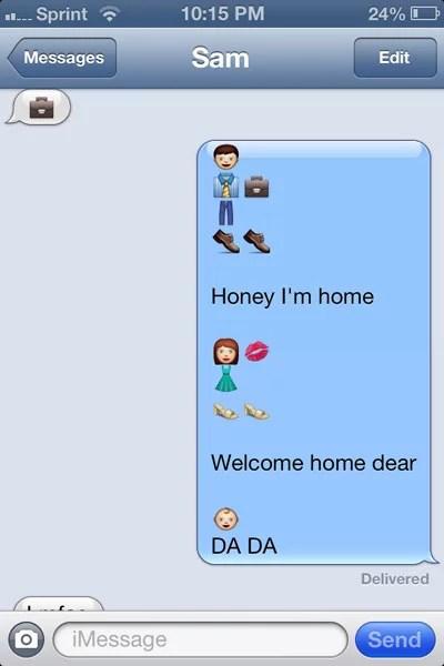 Funny Emoji Texts To Copy : funny, emoji, texts, Funny, Emoji, Texts, POPSUGAR